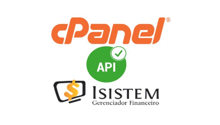 Com a atualização do cPanel tem mudanças no token API do Isistem Tools